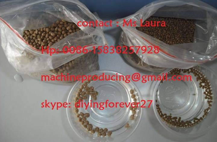 floating fish feed pellet extruder / float fish feed Mill