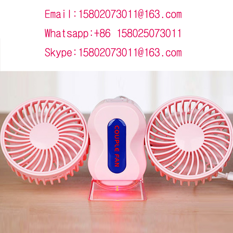 Plastic portable hand holder mini fan USB mini desk fan