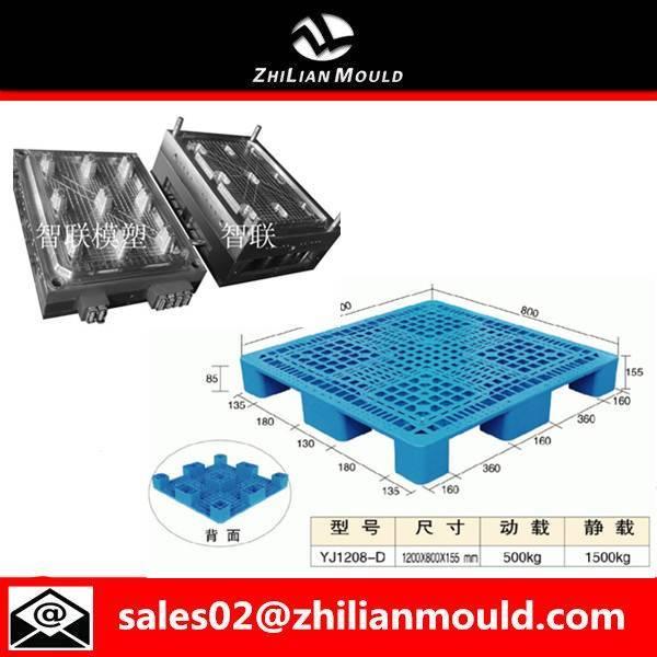 Taizhou durable nine-foot pallet mould plastic injection molding machine