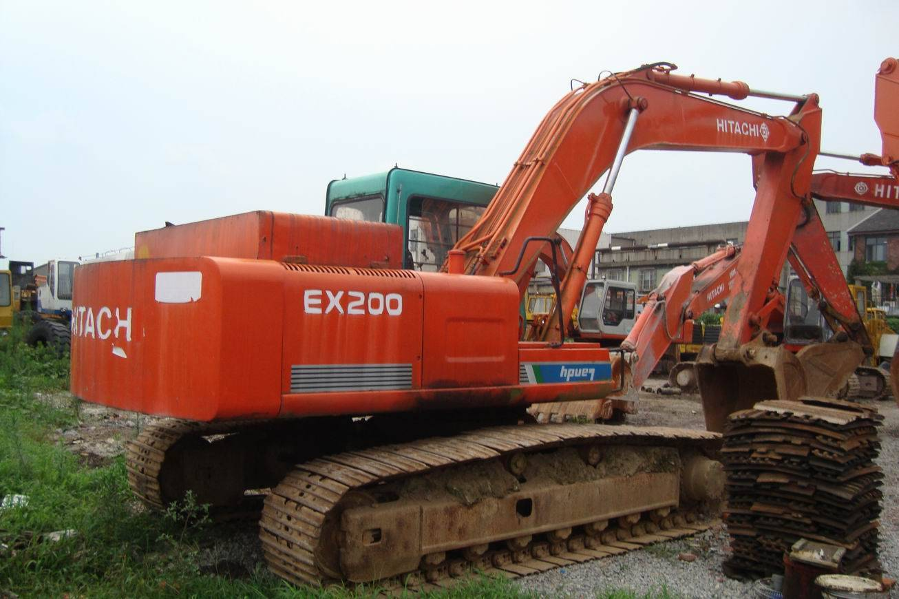 hitachi excavator ex200-1 for sale