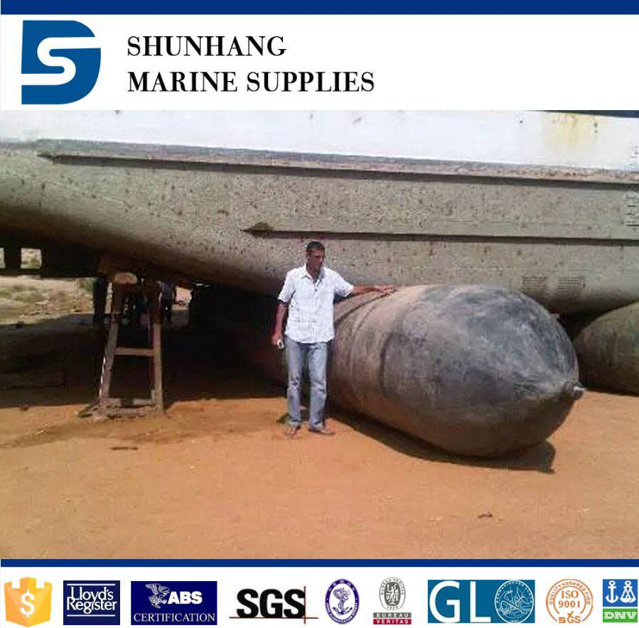 ship moving airbag for ship launching and upgrading