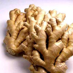 DRIED SPLIT GINGER ROOT