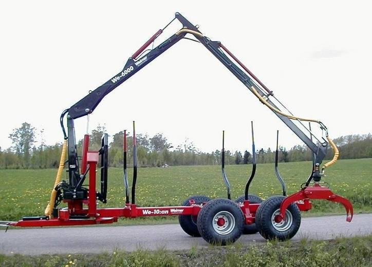 log loading trailer