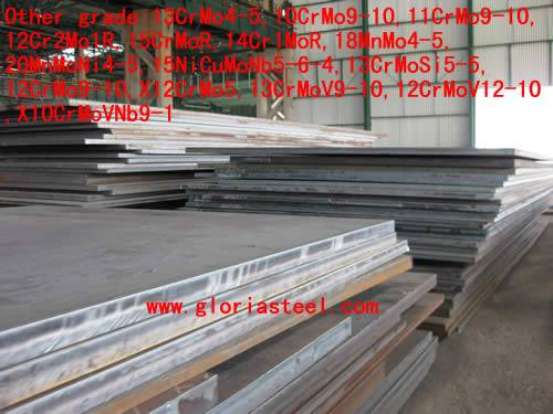 10CrMo9-10 alloy steels with specified elevated temperature properties