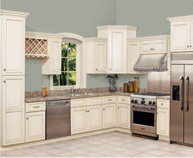 Custom kitchen cabinet supplier solid wood furniture factory