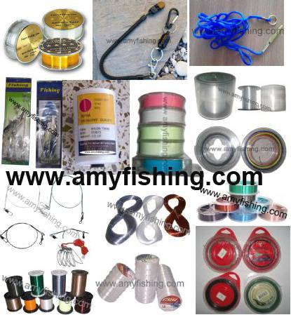 fishing line, braided line, fluor carbon line, wire line, connect line, trimmer line