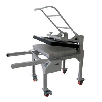 high pressure heat press machine for large size print