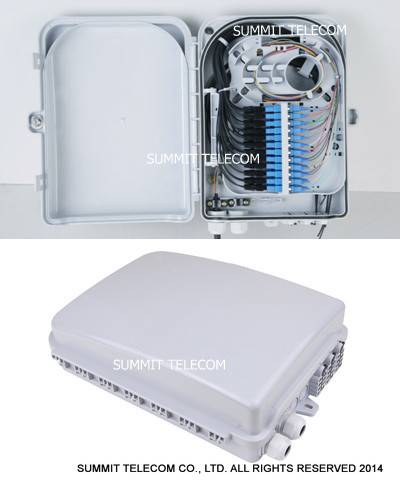 Fiber Demarcation Closure 24 Core, Optical Fiber Demarcation Box, Fiber Optic Demarcation Closures