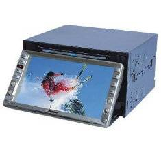 6.5 Double Din LCD Monitor /DVD player /Adjustable Panel