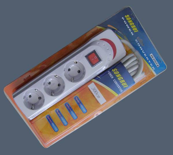 Supply European Style Extension Socket (SR-5303-A)