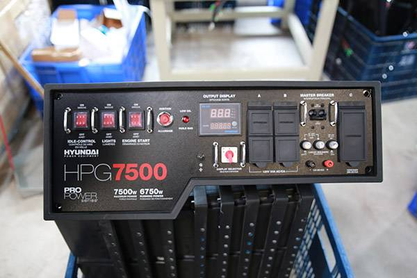 generator control panel manufacture/oem