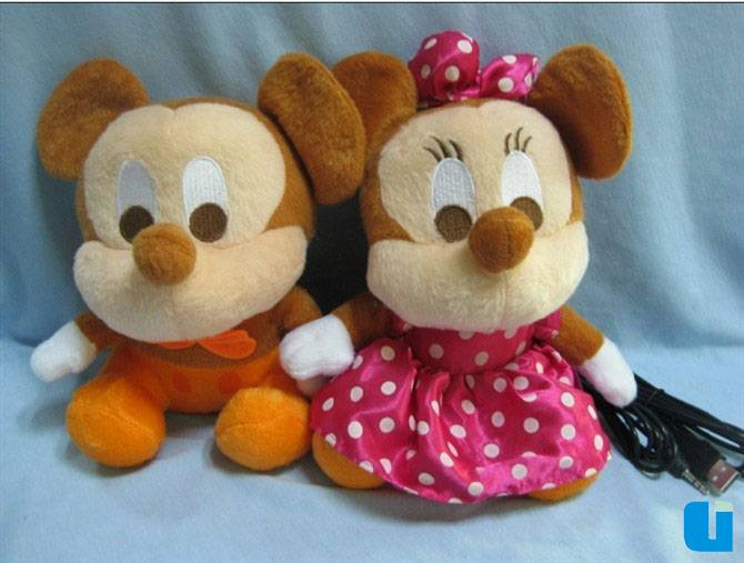 hot selling promotion gift Mickey Monnie for lovers USB doll speaker