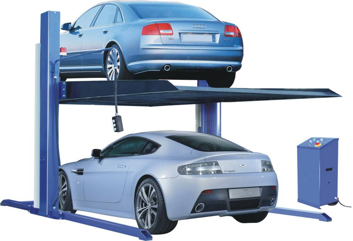 CE Two post parking car lift for home garage