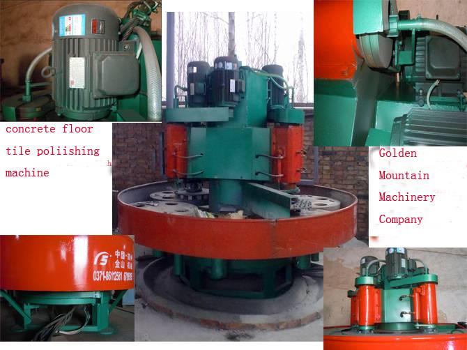 MSJ-3040 terrazzo tile polishing machine
