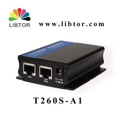 Industrial 3g HSDPA wireless router T260S-A1 for ATM Vending machine application