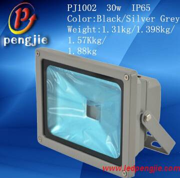 30W Floodlight with ADC7 aluminum and 60° Beam Angle