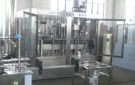 4000BPH Water Filling Machine Monobloc CGF14-12-5