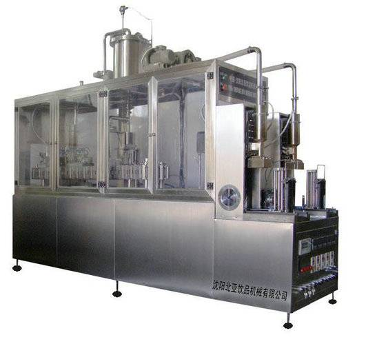 milk gable top carton filling and sealing and packing machine