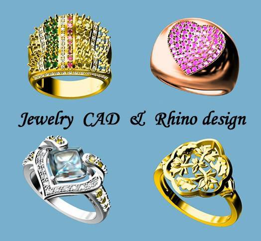 Jewelry CAD&Rhino design