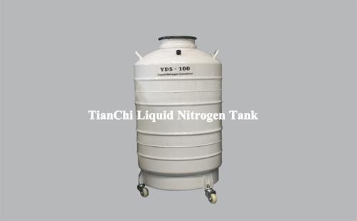 TIANCHI liquid nitrogen storage tank 100L in Guatemala
