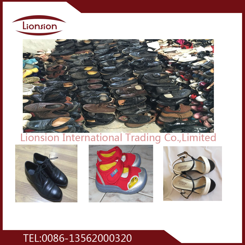 Used shoes supply