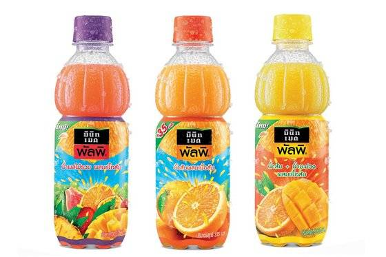 Minute Maid Pulpy 3 Flavors Fruit Juice with Pulp