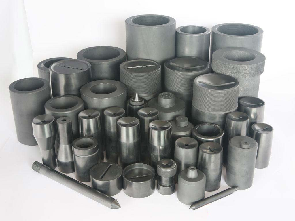 Graphite mold for large size copper tube continuous metal casting