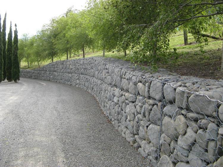 High quality gabion for garden design stone cage retaining wall
