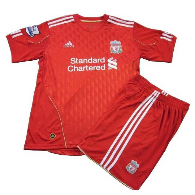 finest selection d560d c261b Liverpool 2010/11 Home Soccer Jersey Of Thailand Quality ...