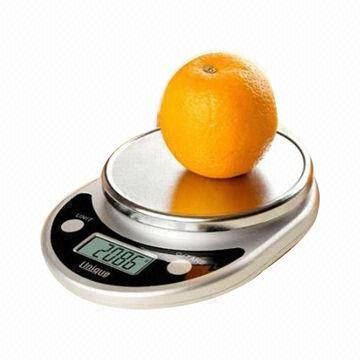 Digital Kitchen Scale with Extra Large LCD and 11lB Capacity