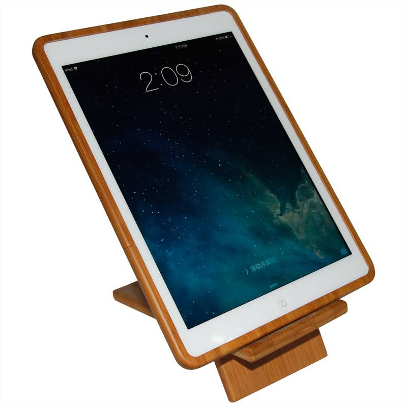 Hot Selling Fashion wood Shell Case Cover For Apple iPad Mini