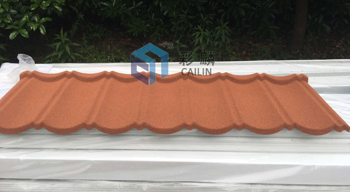 Top Ranking Factory director Color Stone Coated in Classical Tile
