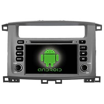 Android double din car video car PC for TOYOTA land cruiser 100 new car central media dvd gps OEM