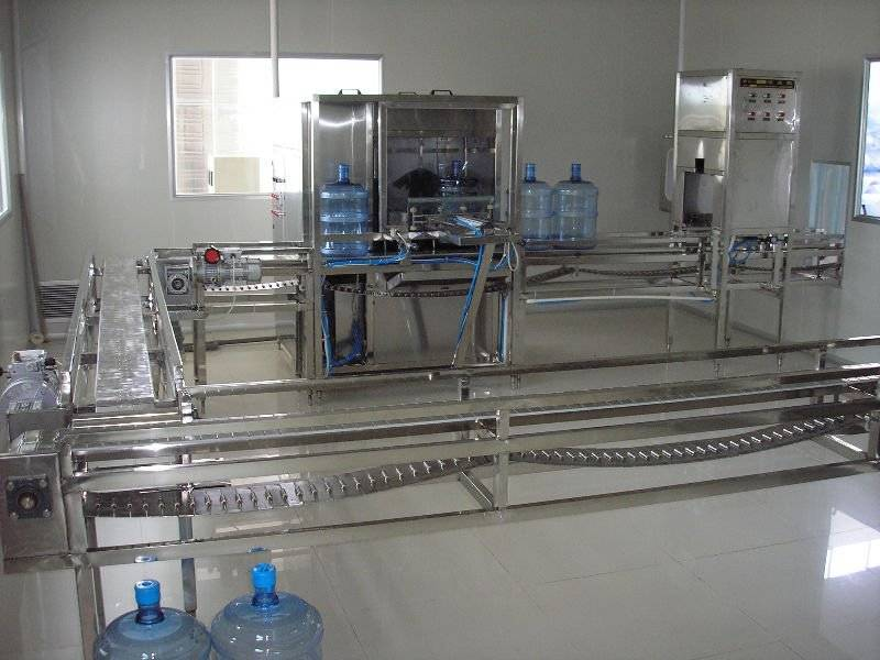 QGF-800 5 gallon bottled water filling machine