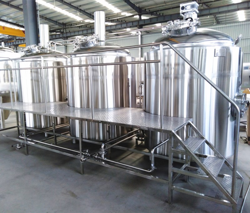 200L 300L brewhouse system with electric heating and control cabinet beer brewing equipment
