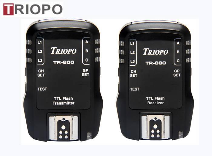 TRIOPO TR-800 Camera accessories/remote wireless TTL HSS 1/8000S Flash Trigger For Canon or NIkon