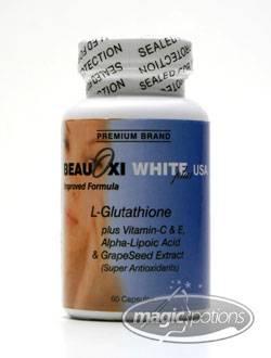 SKIN WHITENING & ANTI-AGING PILLS:BeauOxi White Plus USA 5in1