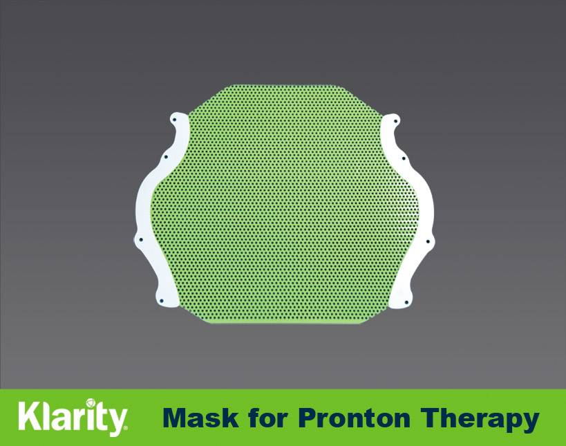 Proton Therapy Mask for Bos Headframe Head Mask