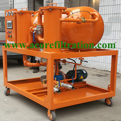Diesel Fuel Oil Filtration Separation Machine