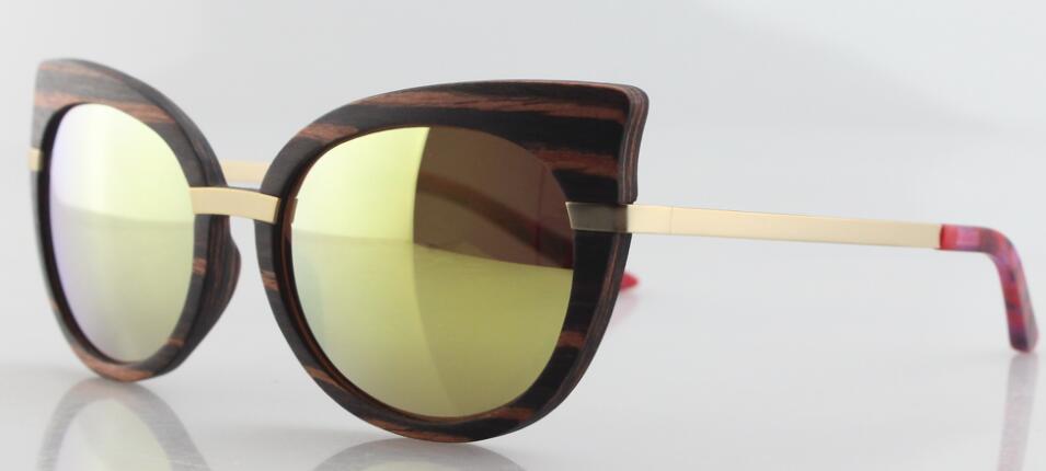 wood frame sunglasses women styles