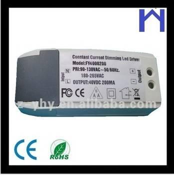 Triac Dimmable LED Driver Constant current 6x1W, 7x1W, 9x1W, 12x1W