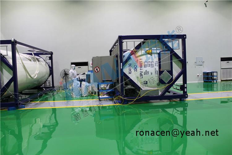 Fluoroplastic lining tank Transerfer Protable Tank PTFE vessel