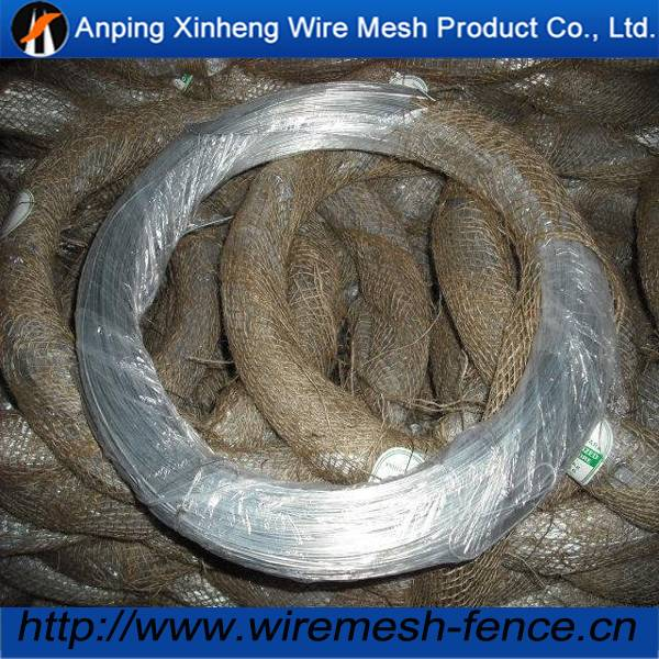 Hot sell galvanized iron wire for binding wire ( factory)
