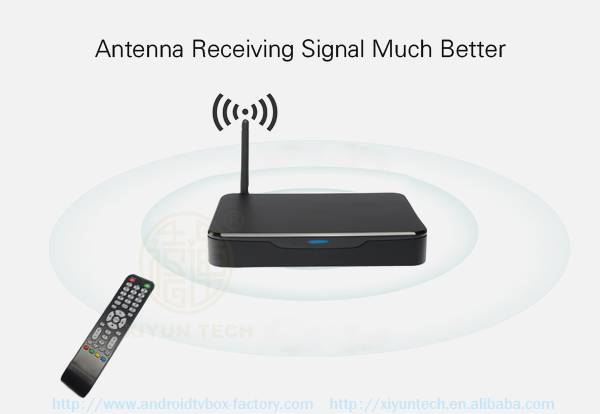 KODI Media Player With Miracast Device DVB-T2 Antenna TV box