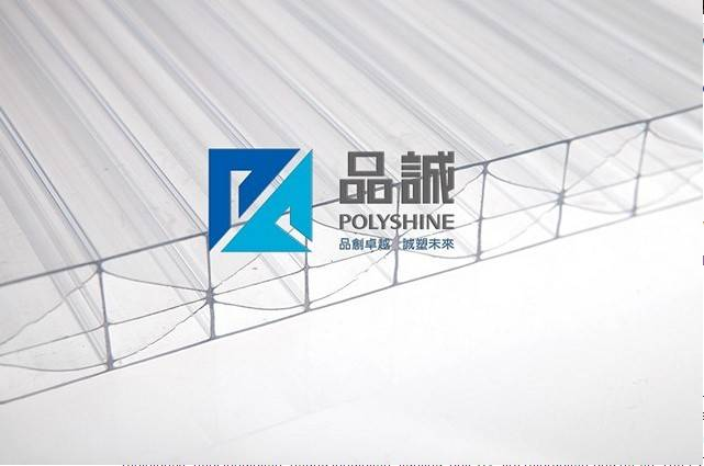 5-wall X-structure polycarbonate hollow sheet