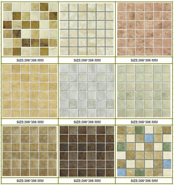 48x48mm Rustic mosaics