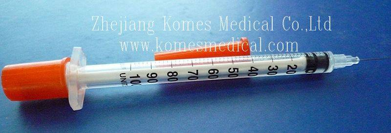 Disposable Insulin Syringe