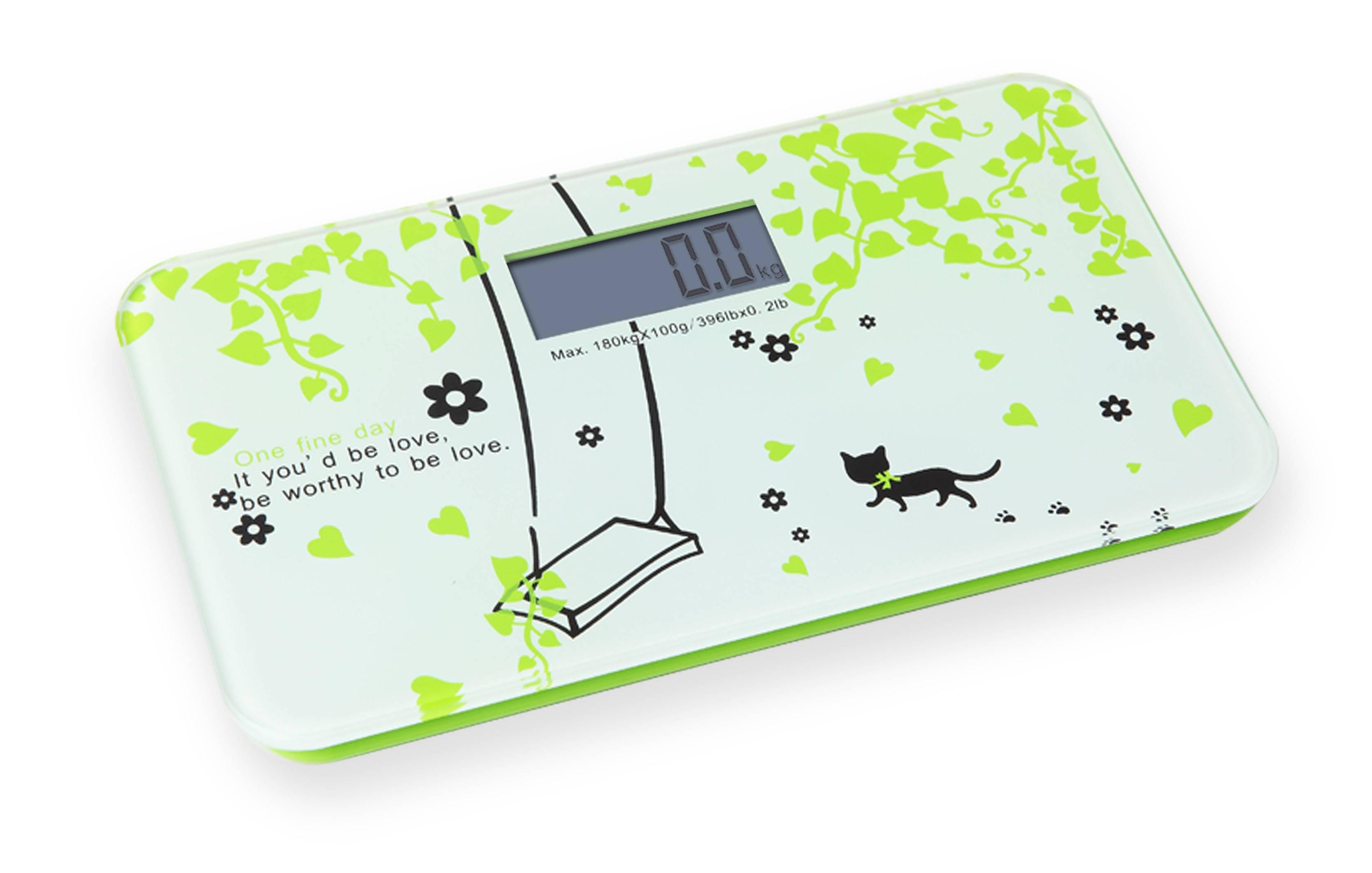 Korea Style Mini Digital Bathroom Scale VBS110C