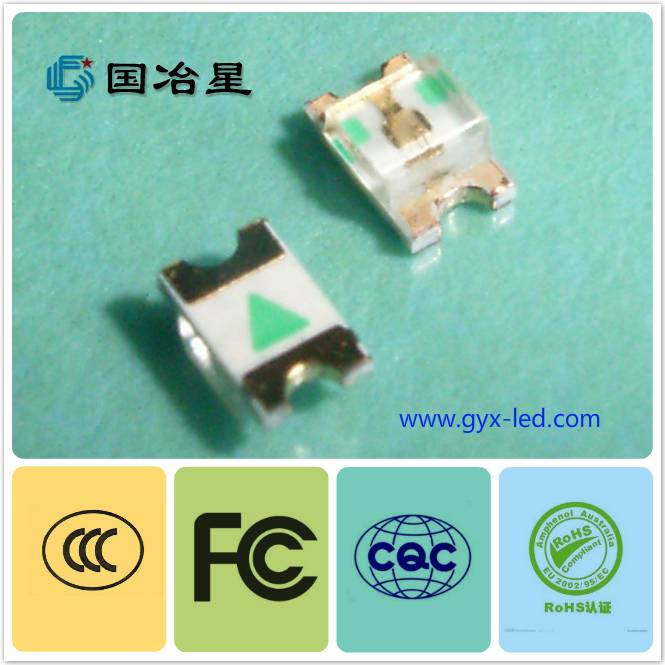 hot sale led smd 0805 Red/Yellow/Blue color with factory quality and price