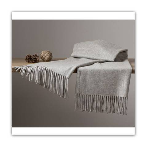 Cashmere scarf, blanket, throw,